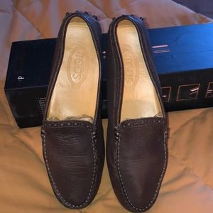 Tod's Brown Ladies Loafers EUC 39.5